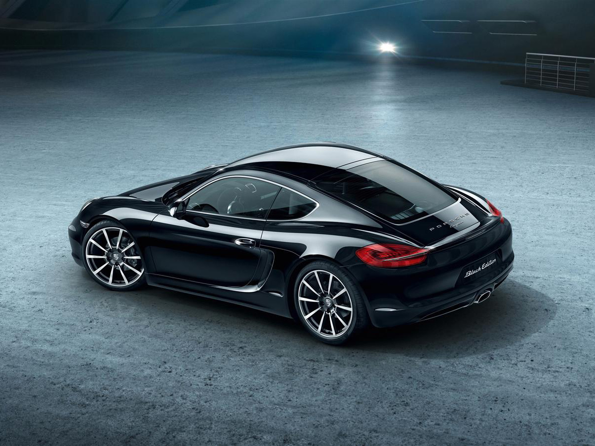 Porsche reveals Cayman Black Edition