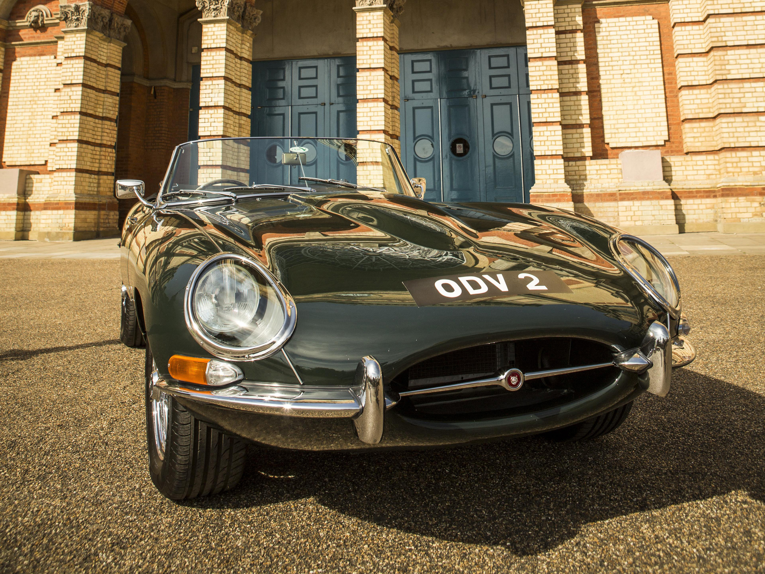 Classic Cars assemble at Alexandra Palace
