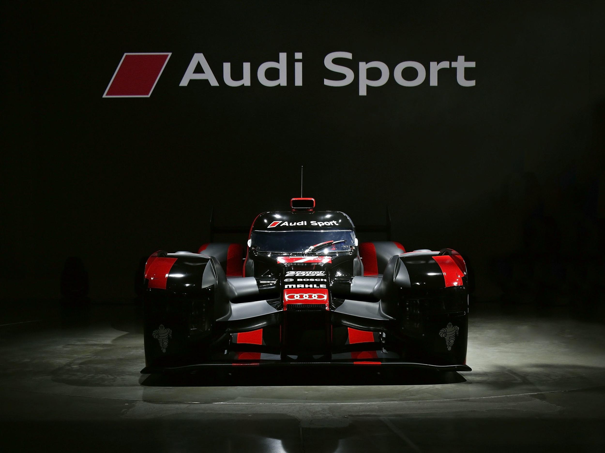 Audi unveils new R18 Le Mans racer