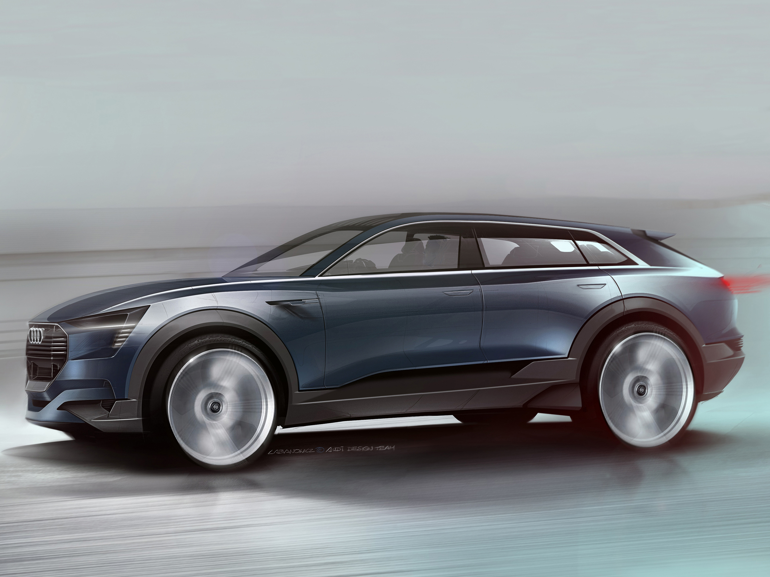 Audi e-tron quattro concept set for Frankfurt debut