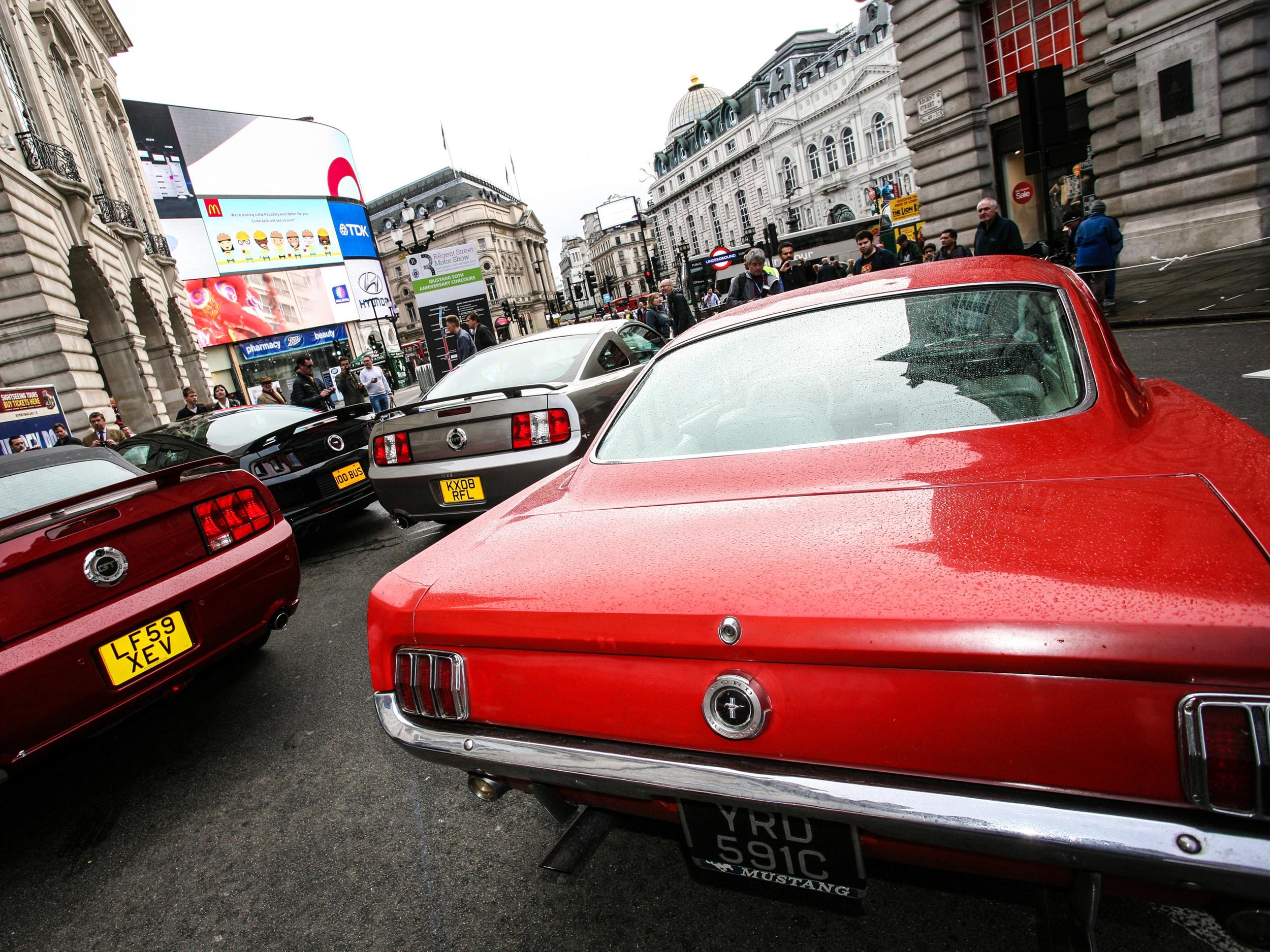Halloween date for Regent Street Motor Show