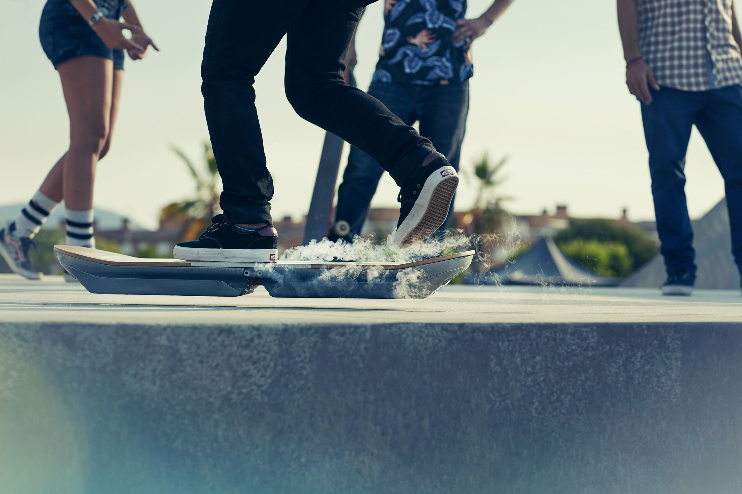 Lexus reveals fully functioning hoverboard