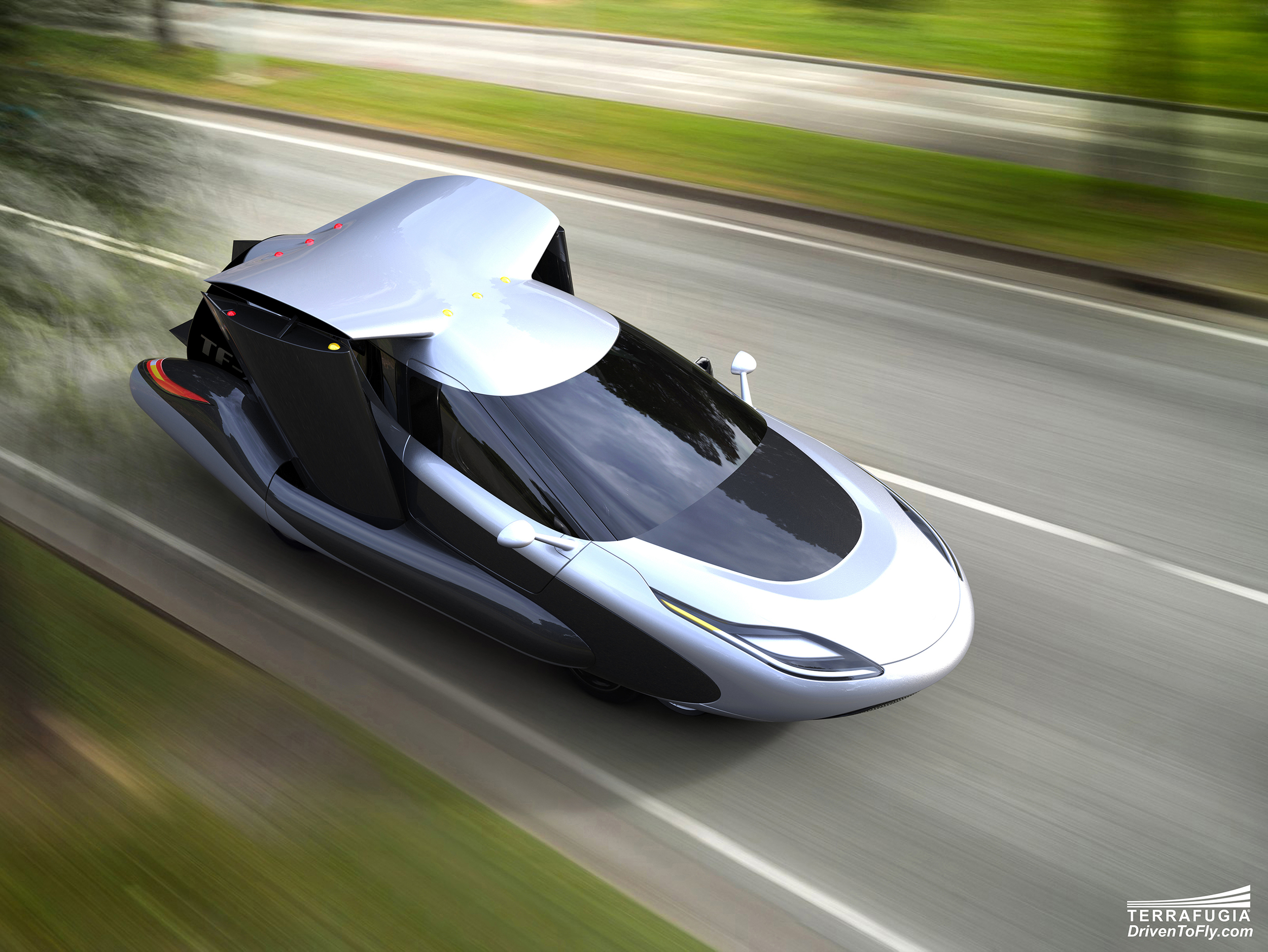 Terrafugia reveals new flying car