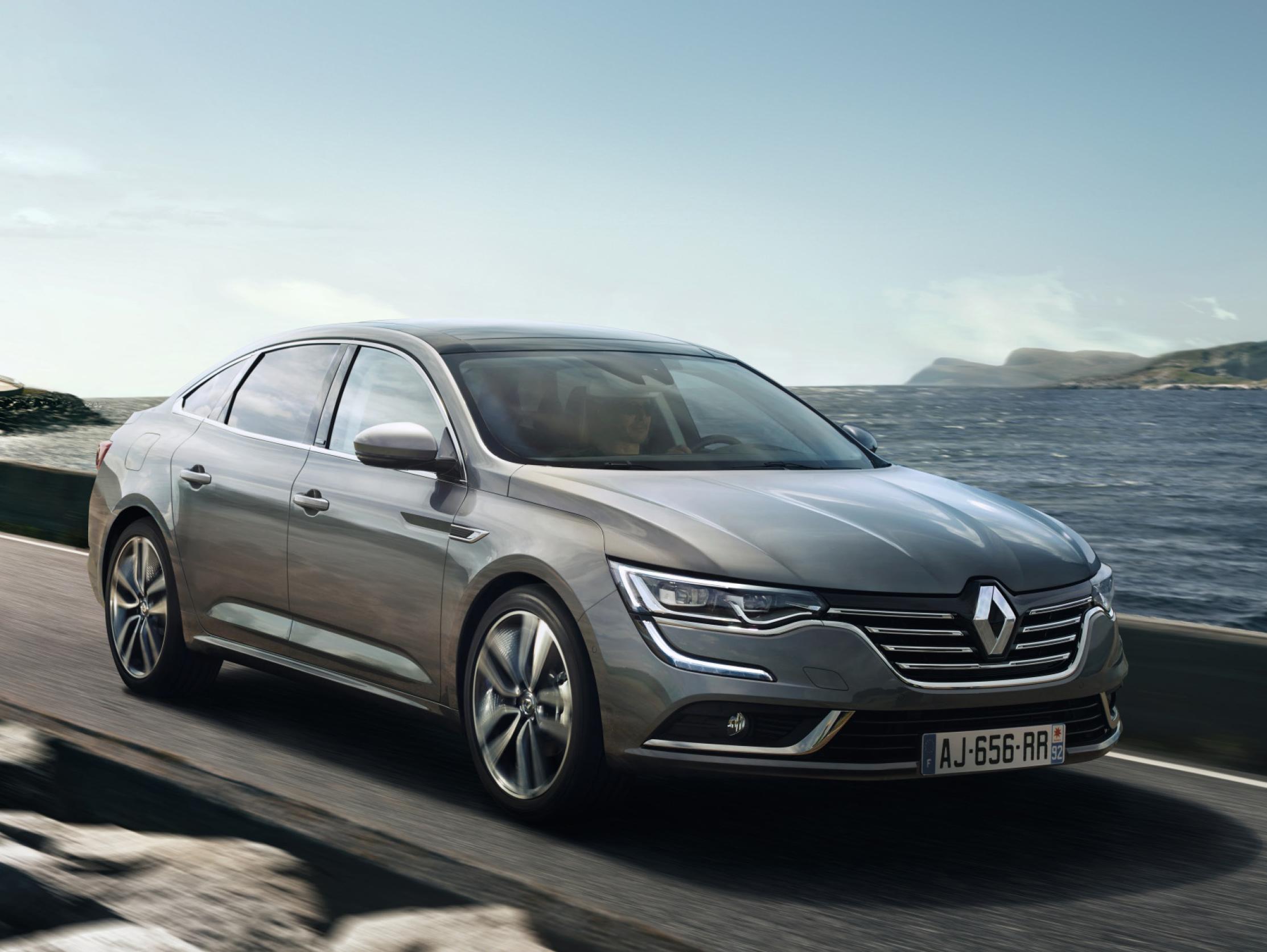Renault reveals new Talisman saloon