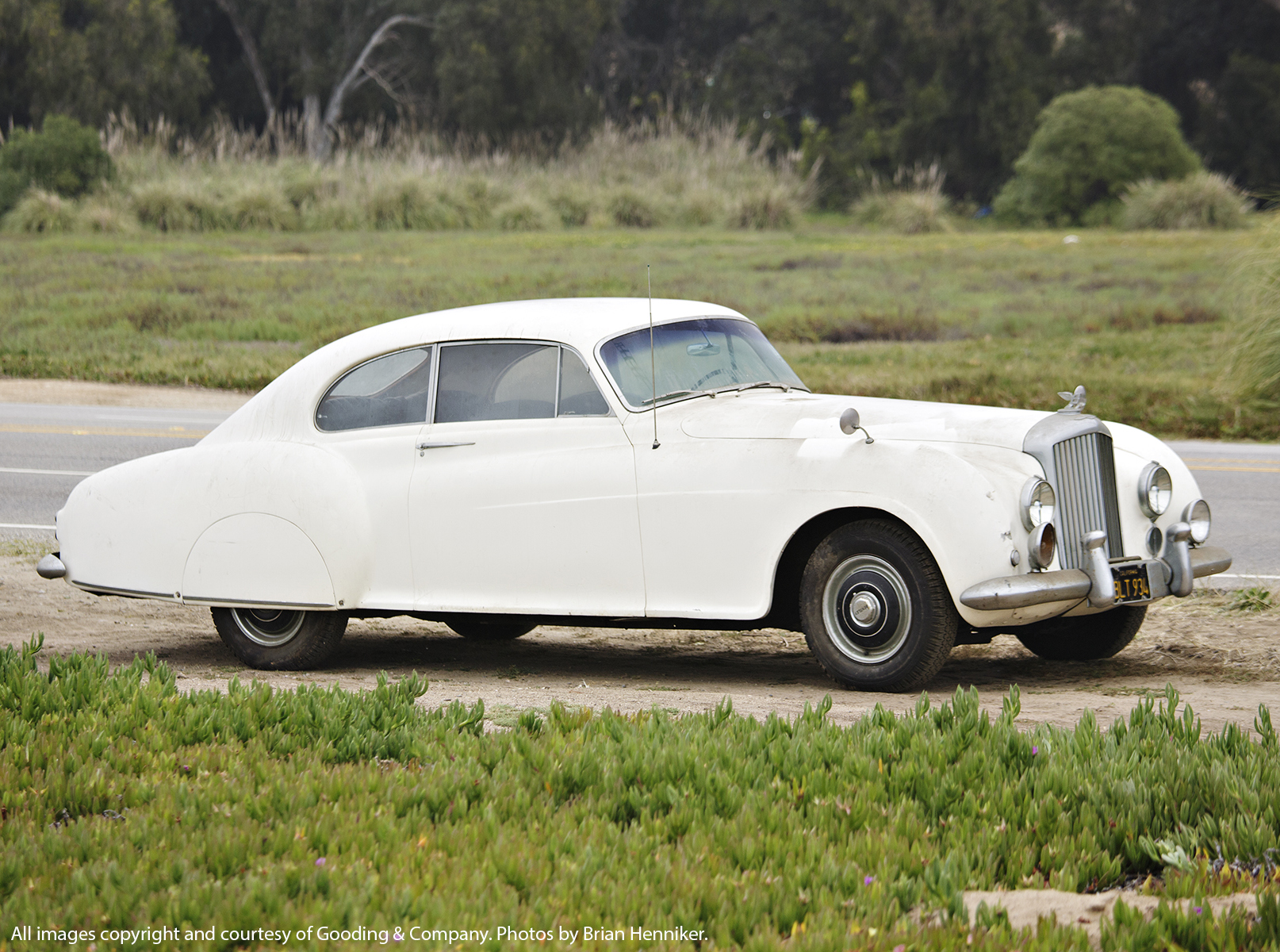 Ian Fleming's Bentley R-Type Continental up for auction