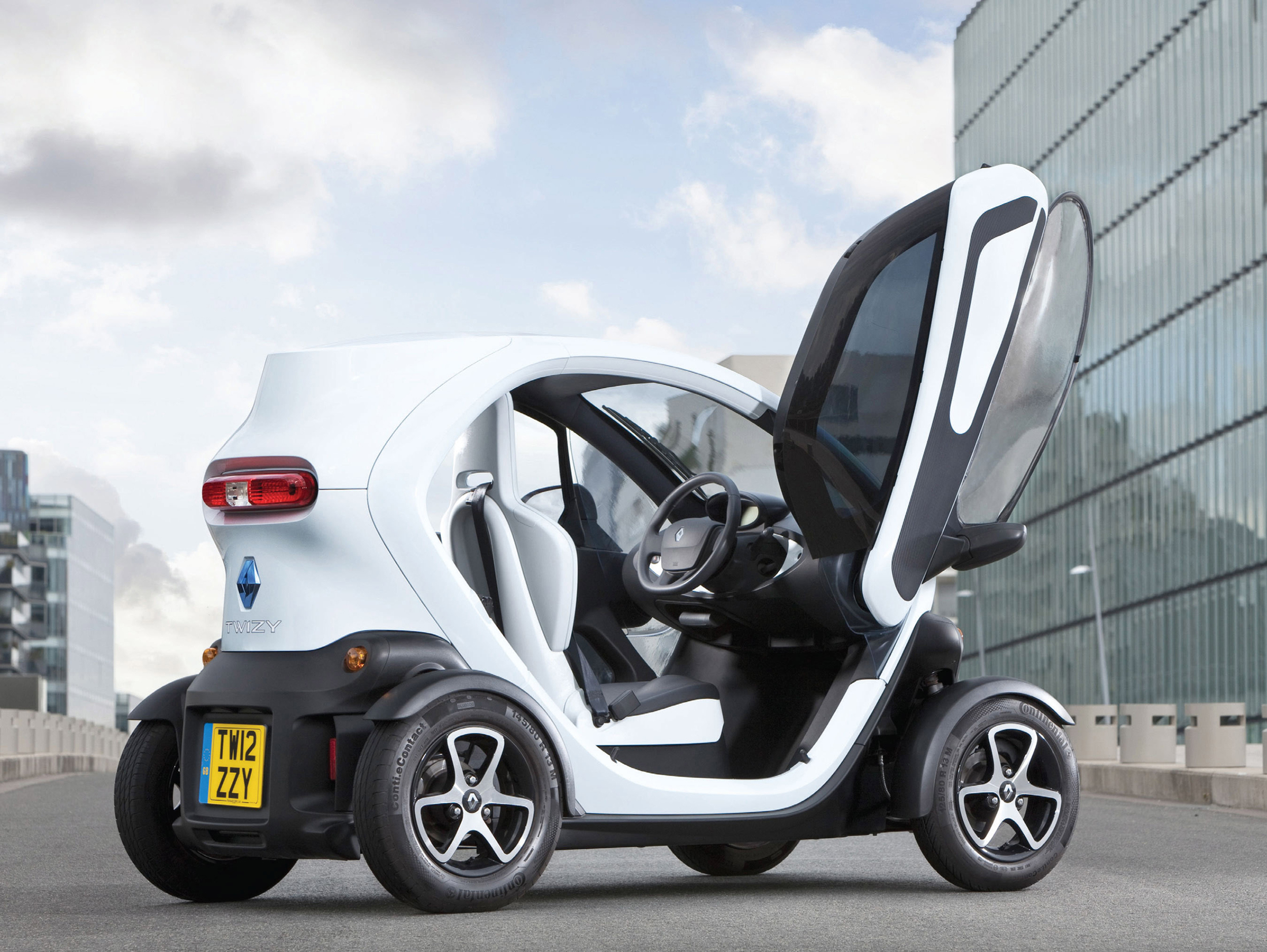 New trim and longer-range motors for Electric Renaults