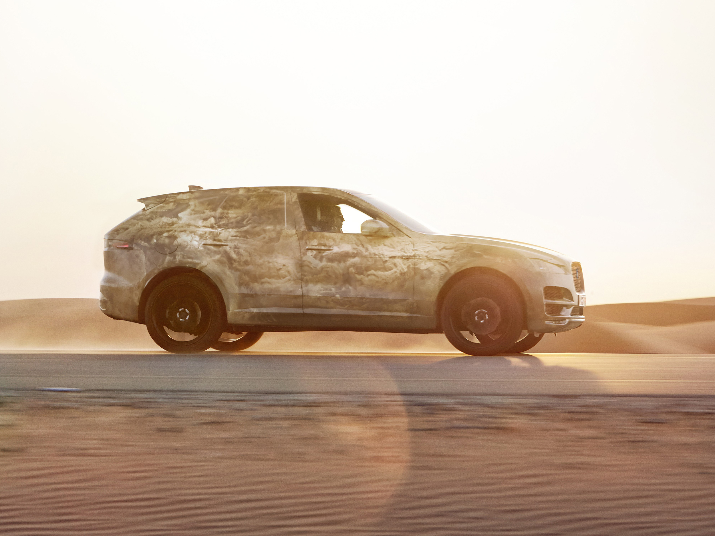 New Jaguar F-Pace tested to the extreme