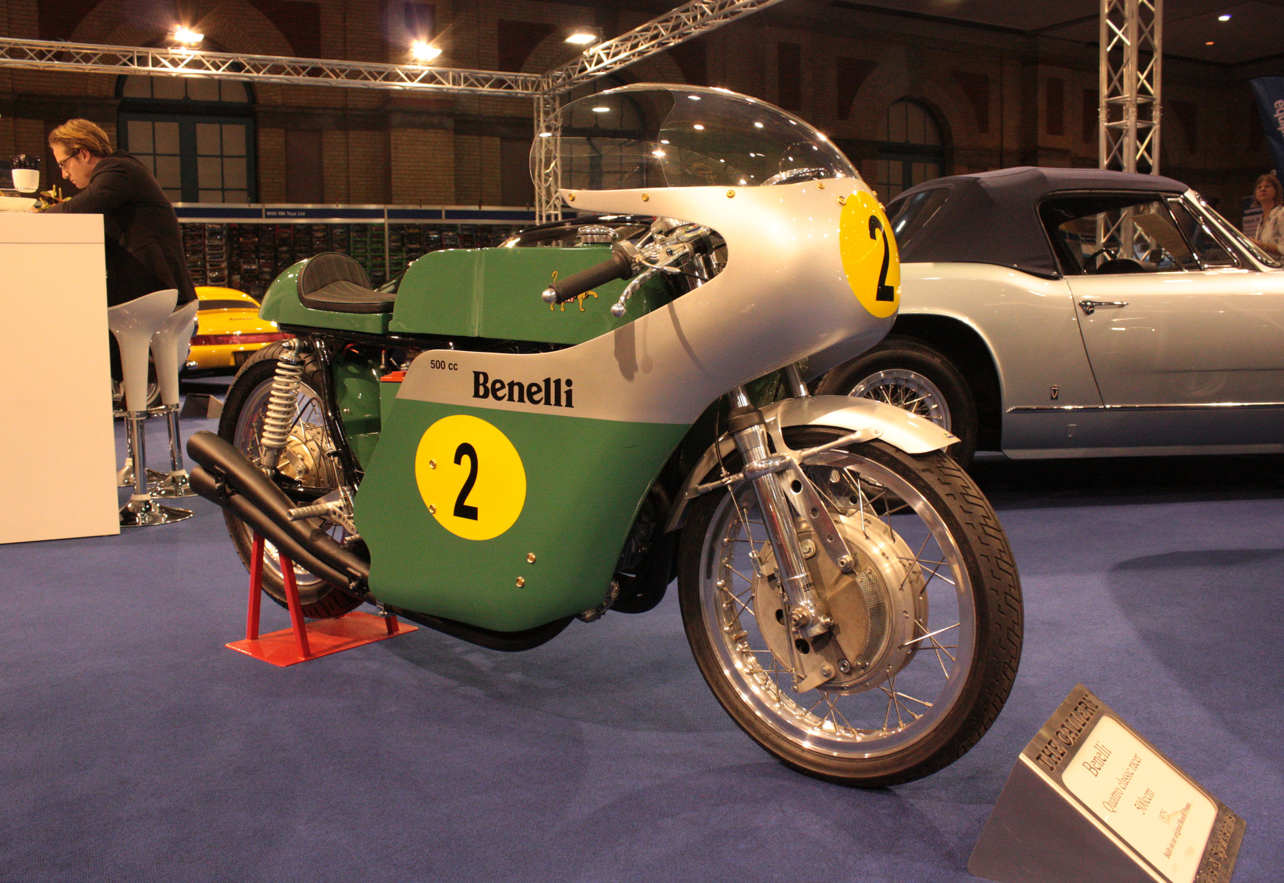Benelli Motorcycle Racer