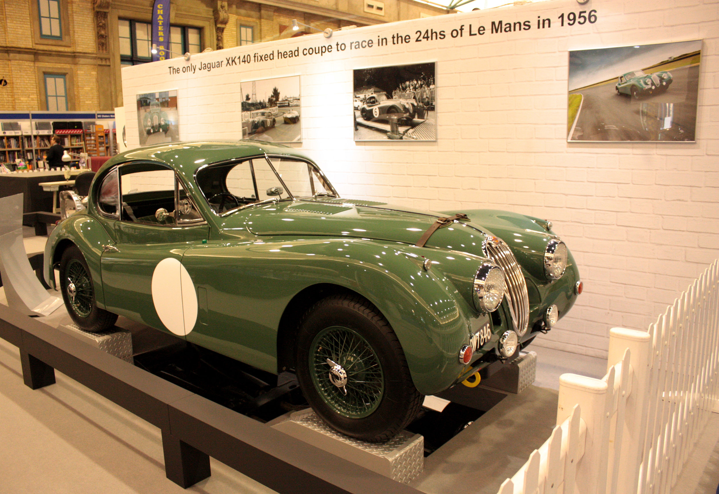 Jaguar XK140 From 1956 Le Mans 24 Hours