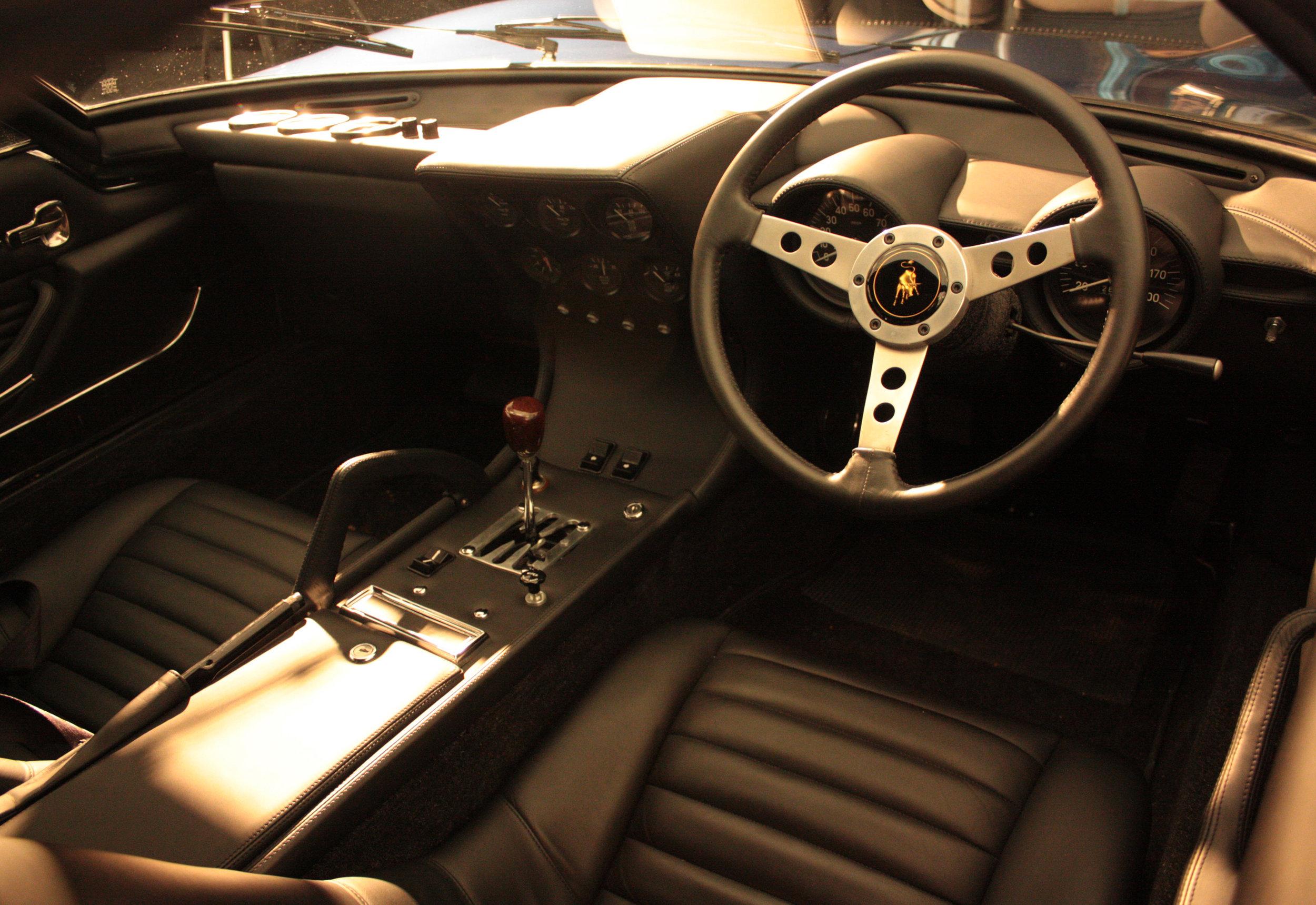 Ex Rod Stewart Lamborghini Miura Interior