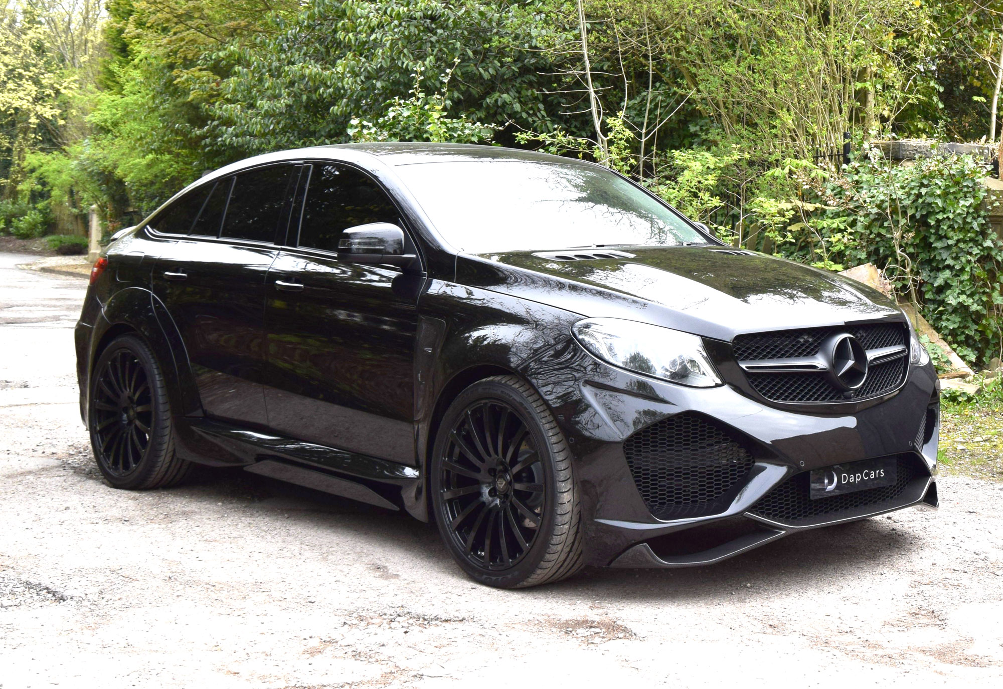 3. Mercedes-Benz Onyx G6 GLE Coupe