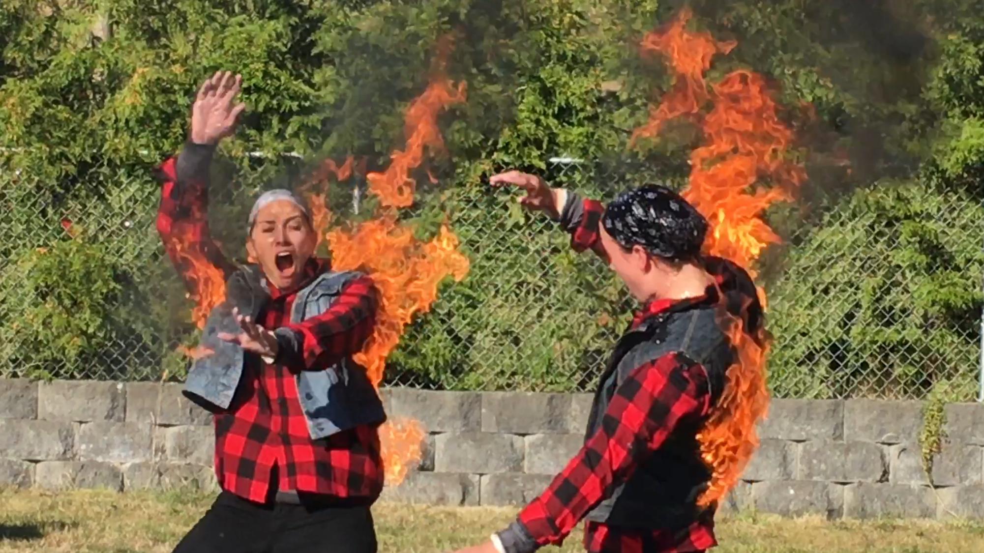 2016 Tandem Fire Burn