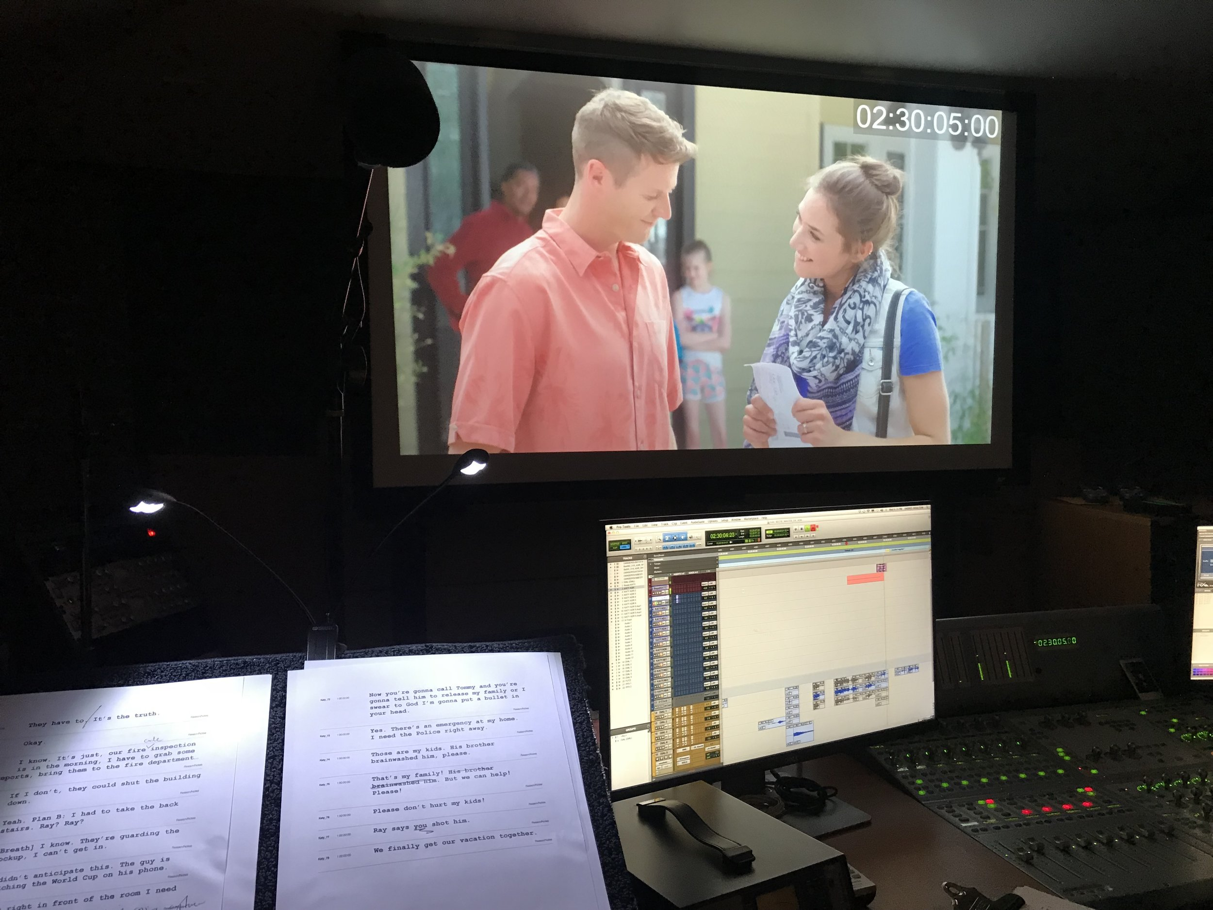 Sisters in Crime ADR BTS