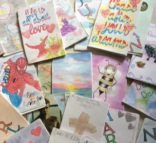 Memory books created by Murray women for their children.