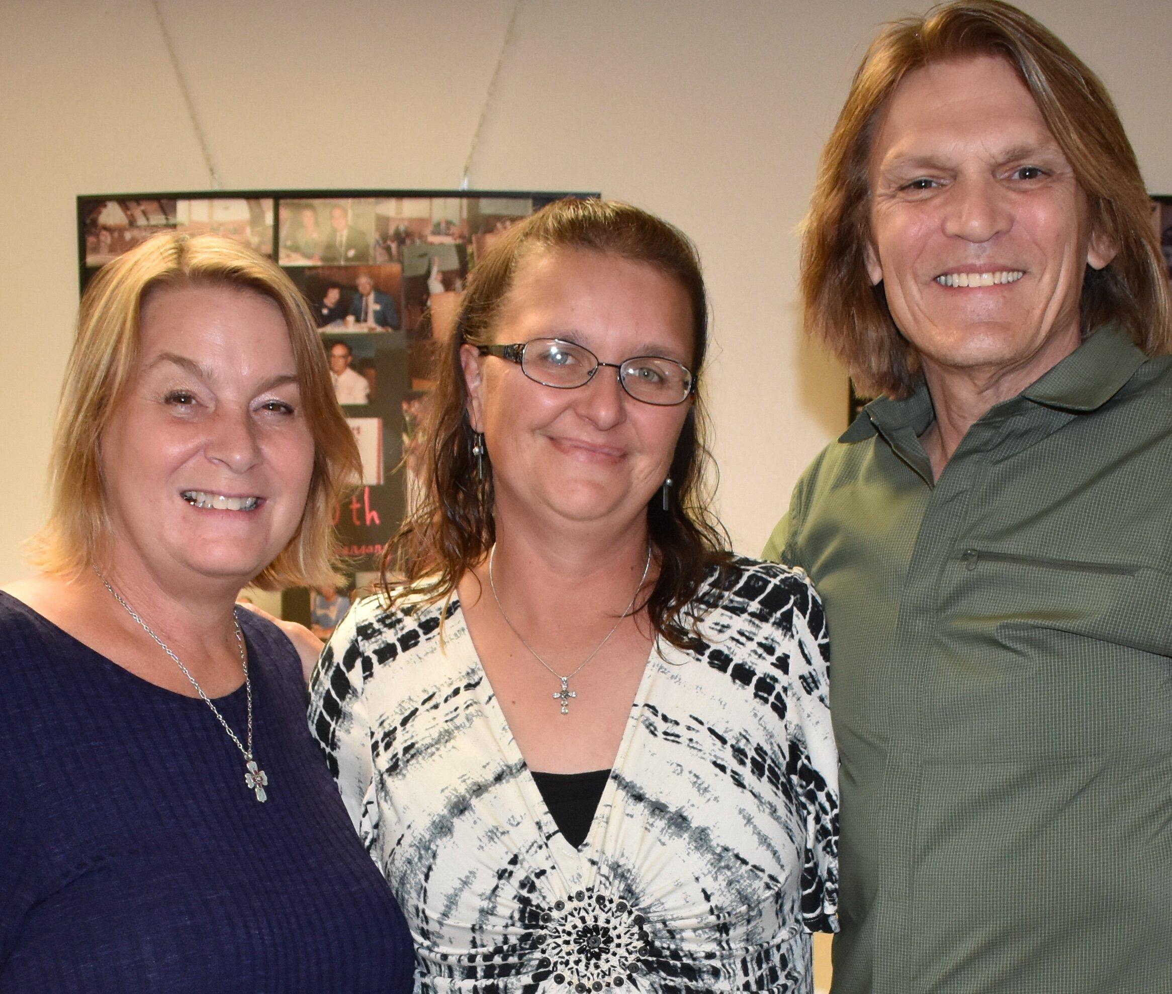 Jean, Sarah, and Terry
