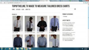 topoftheline.tv made to measure tailored dress shirts