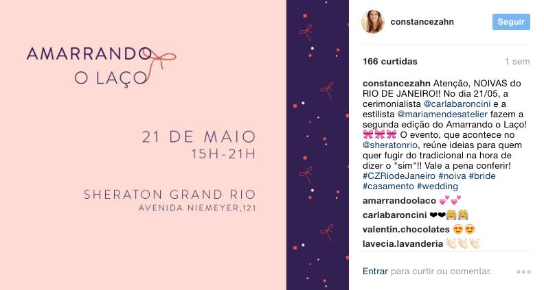 15/05 - Instagram Constance Zahn