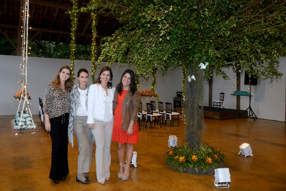 Luiza e Clara Nobrega, decoradoras do evento