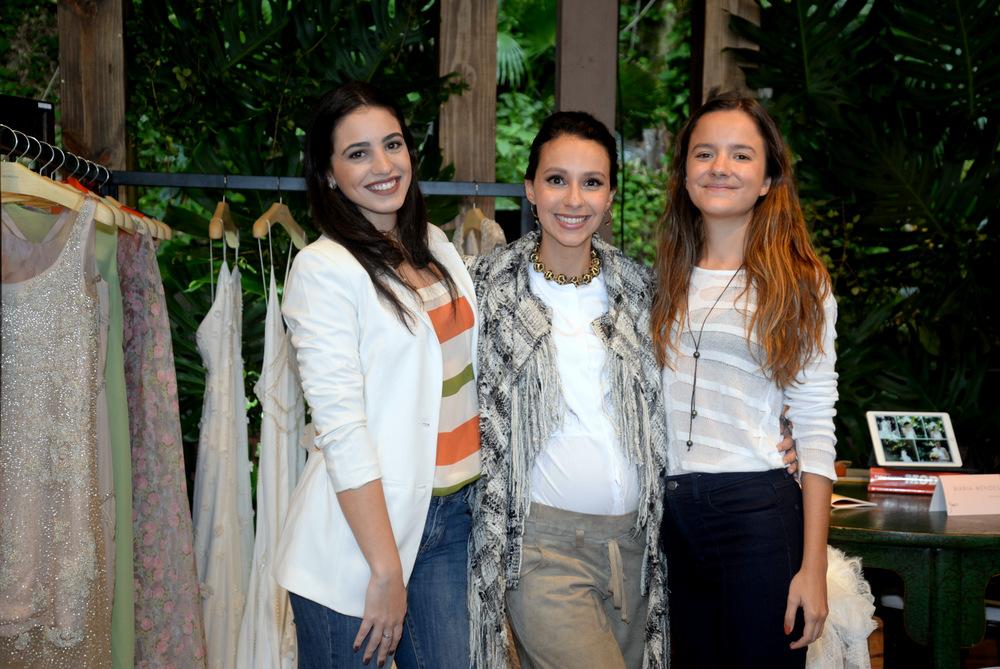 Bianca Anet, Maria Mendes e Fernanda Castro