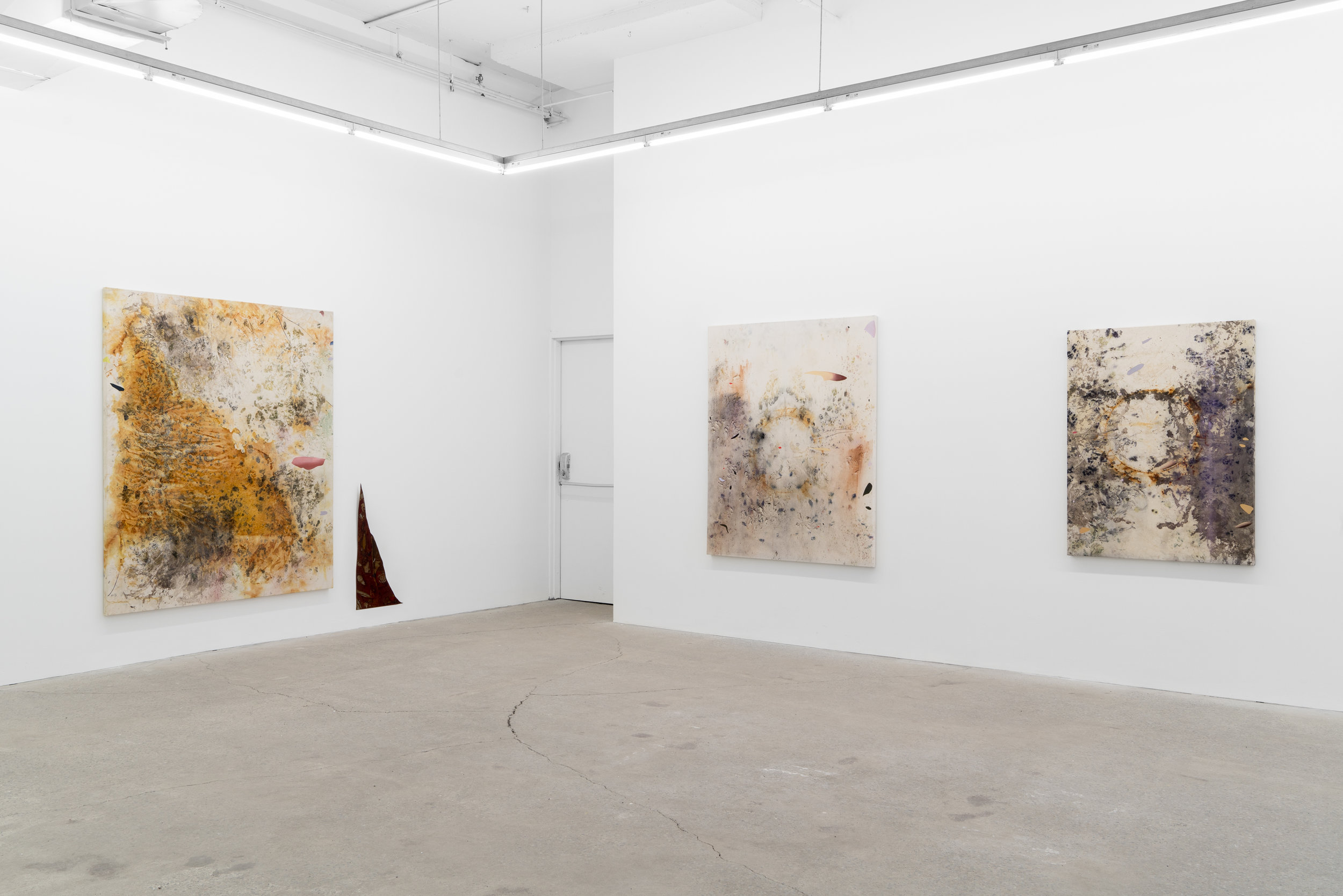 Sediment Installation, Solo Exhibition at Galerie Nicolas Robert, Montreal, QC, 2019