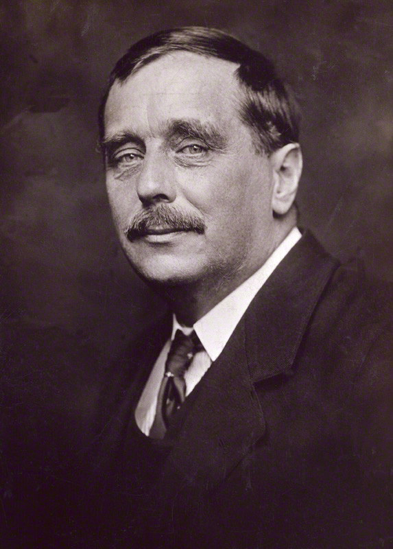 HG Wells, courtesy of Wikipedia, of course.