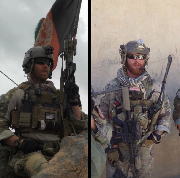 Jared and his Twin Brother serving in their respective units.