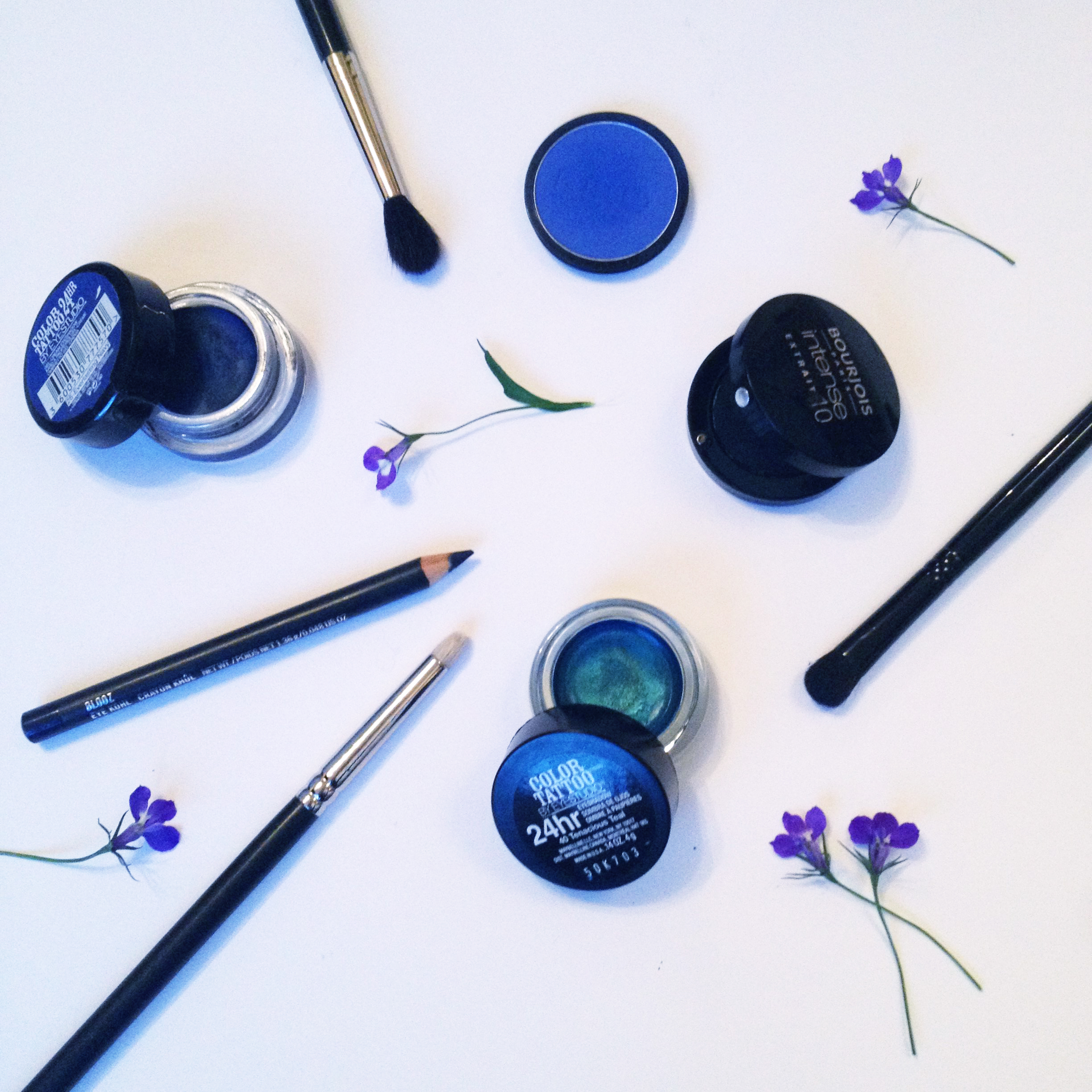 The products used.