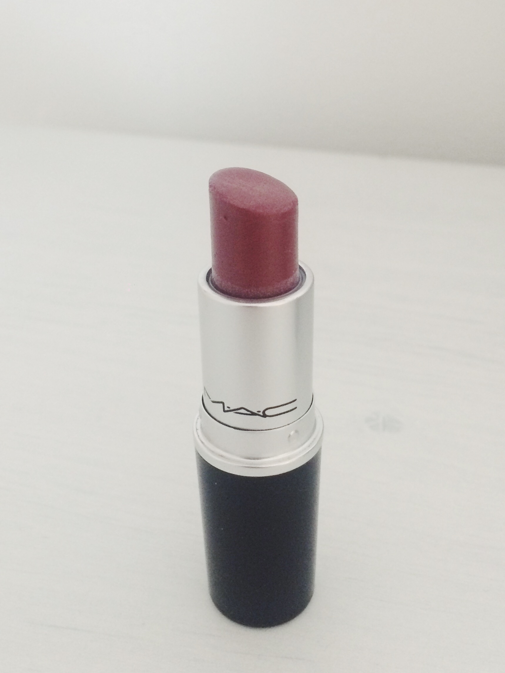 I love this one for a beautiful daytime lipstick. Because it's a Lustre formula, it's a bit more sheer and the colour isn't as intense but sometimes it's nice not to have a really bold lip on, yet still maintaining that plum tone.