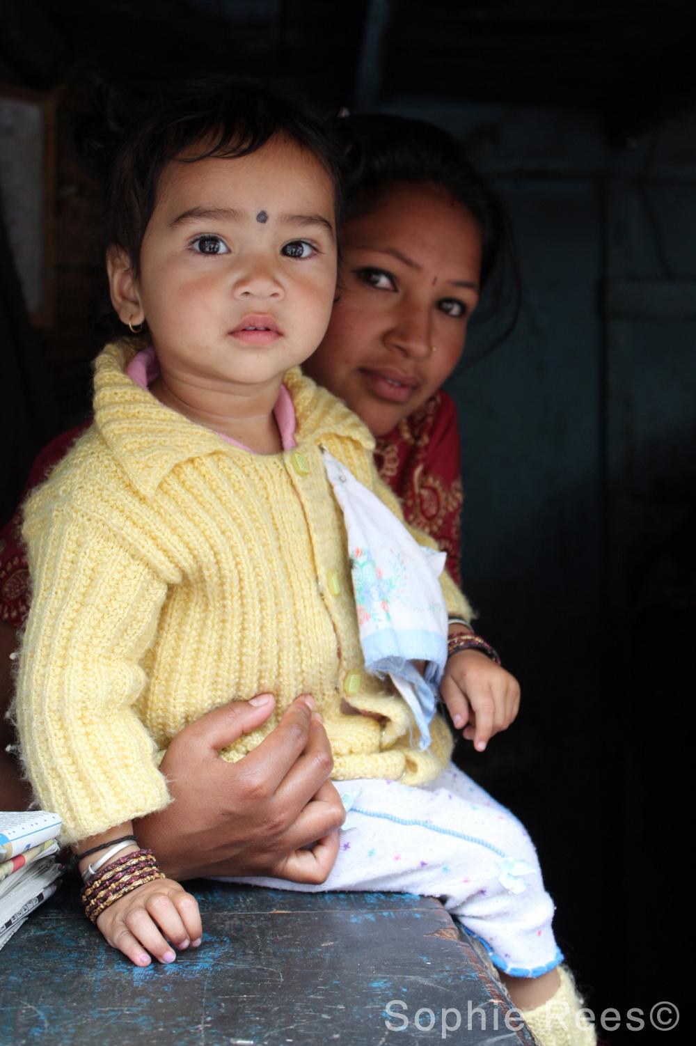 Mother & daughter, Darjeeling, 2013