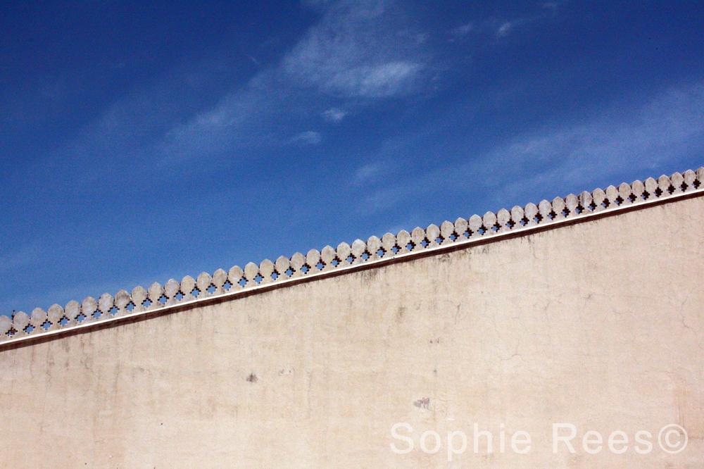 Meeting the sky, Jaipur, 2013