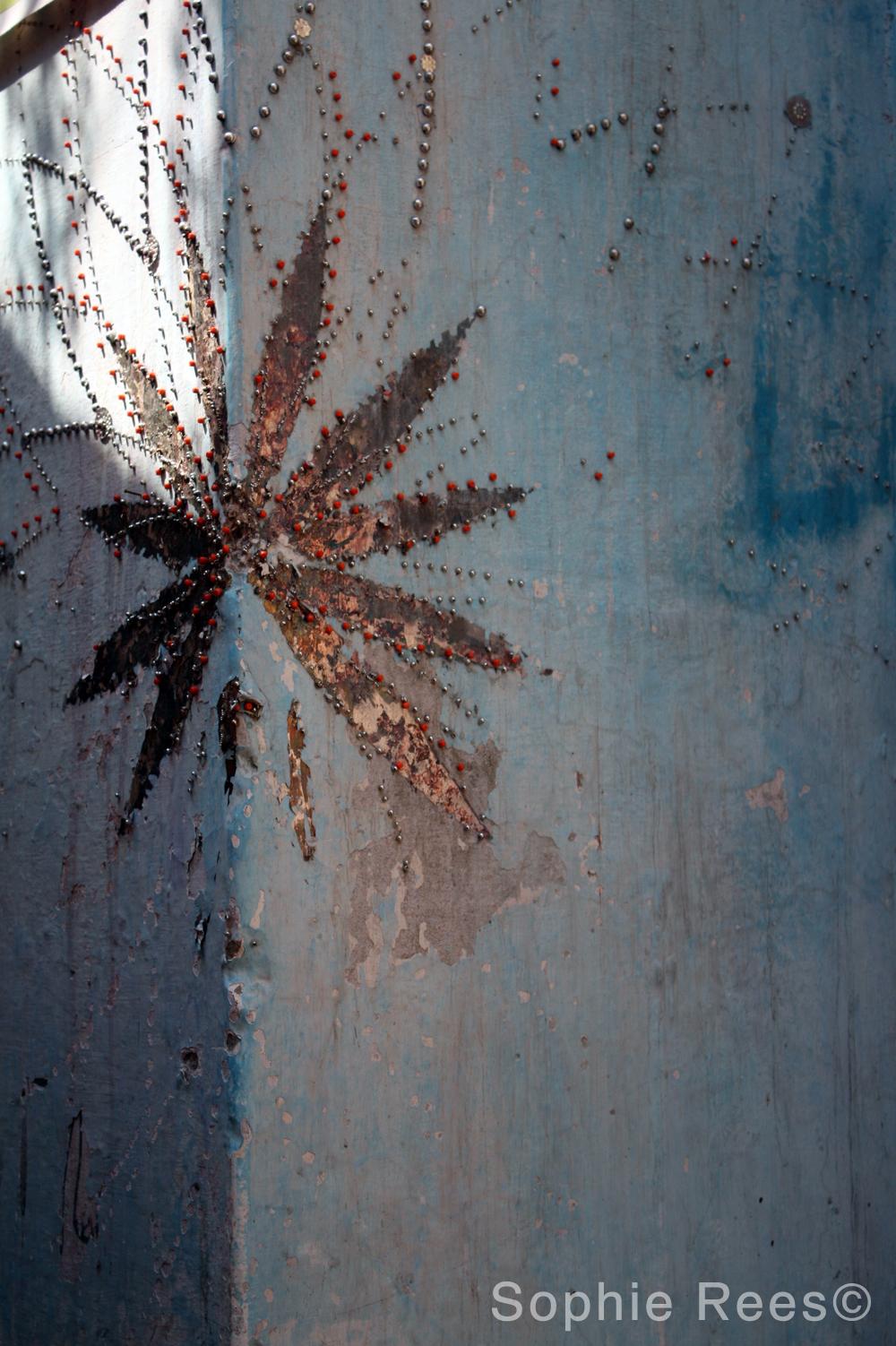 Blue Wall, Varanassi, 2013