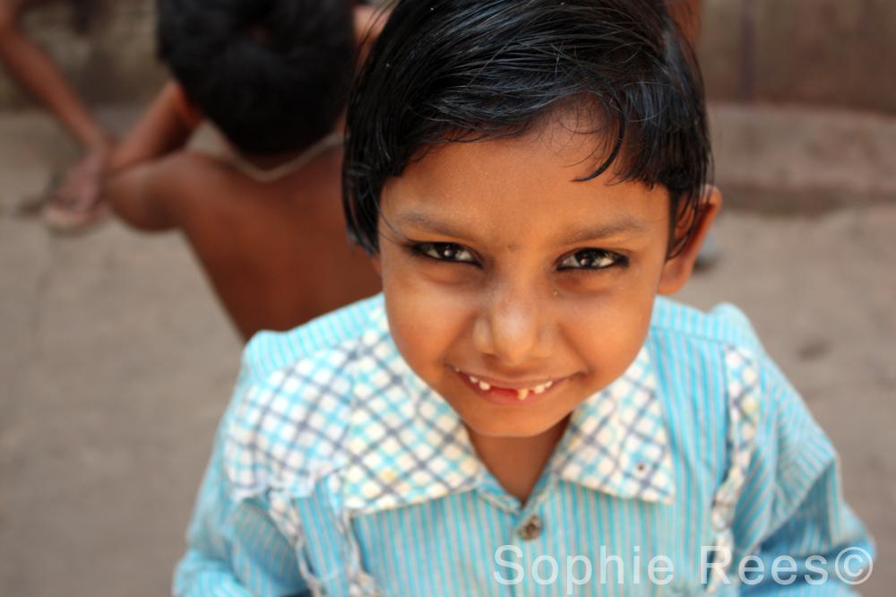 Eyes that smile, Varanassi, 2013