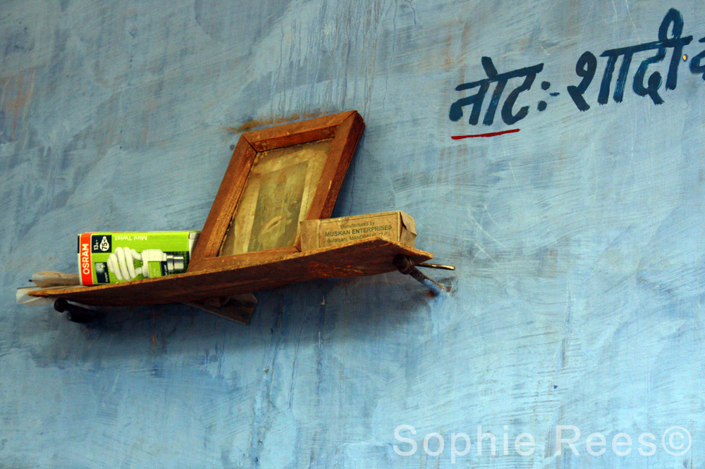 Bookshelf, Jodhpur, 2013