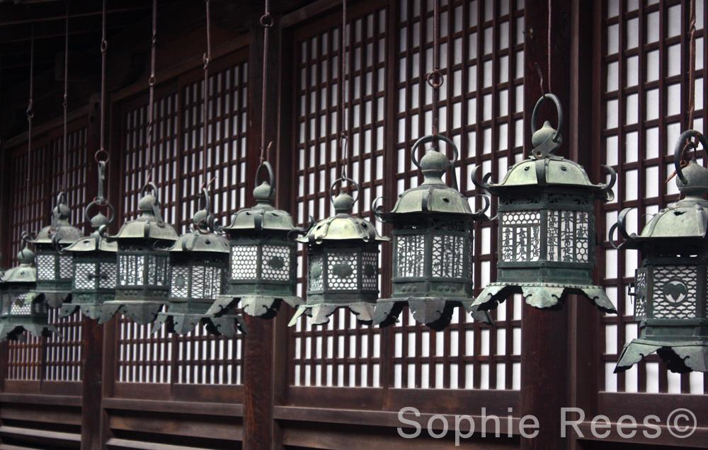 Lanterns, Nara, 2016