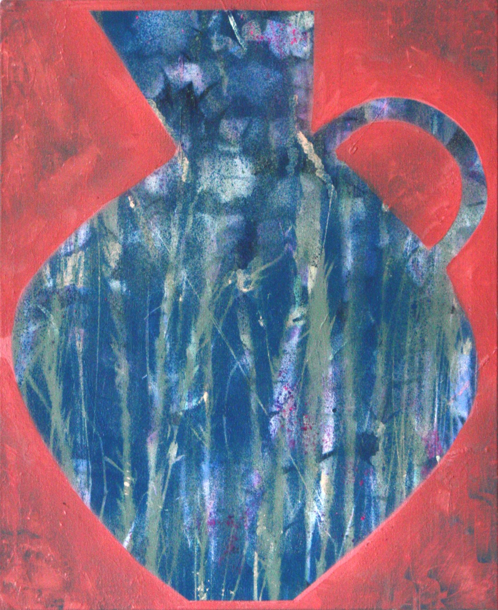 Sangria, 51 x 40cm, acrylic on canvas, 2019