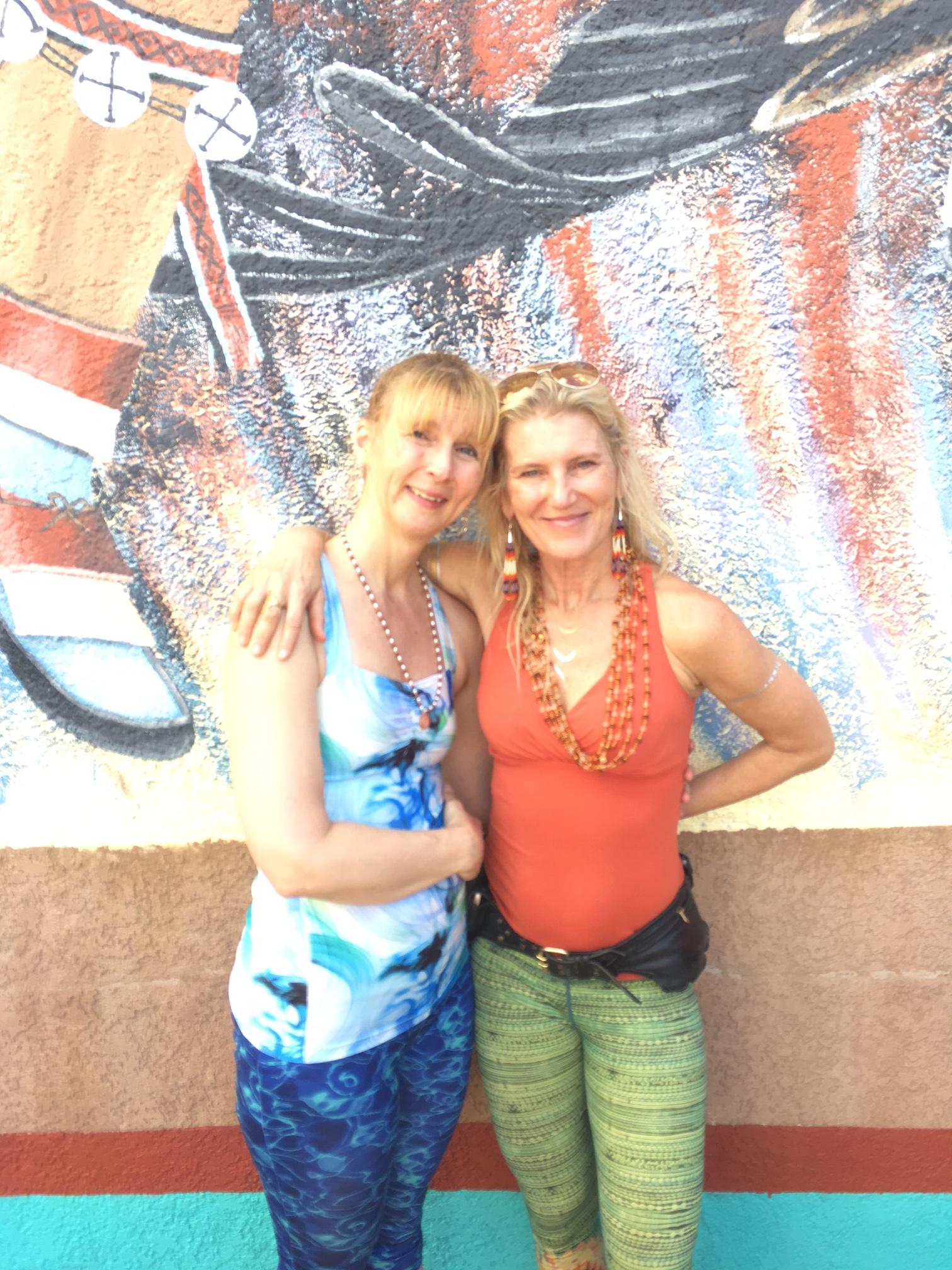 Susan Harp & Shiva Rea