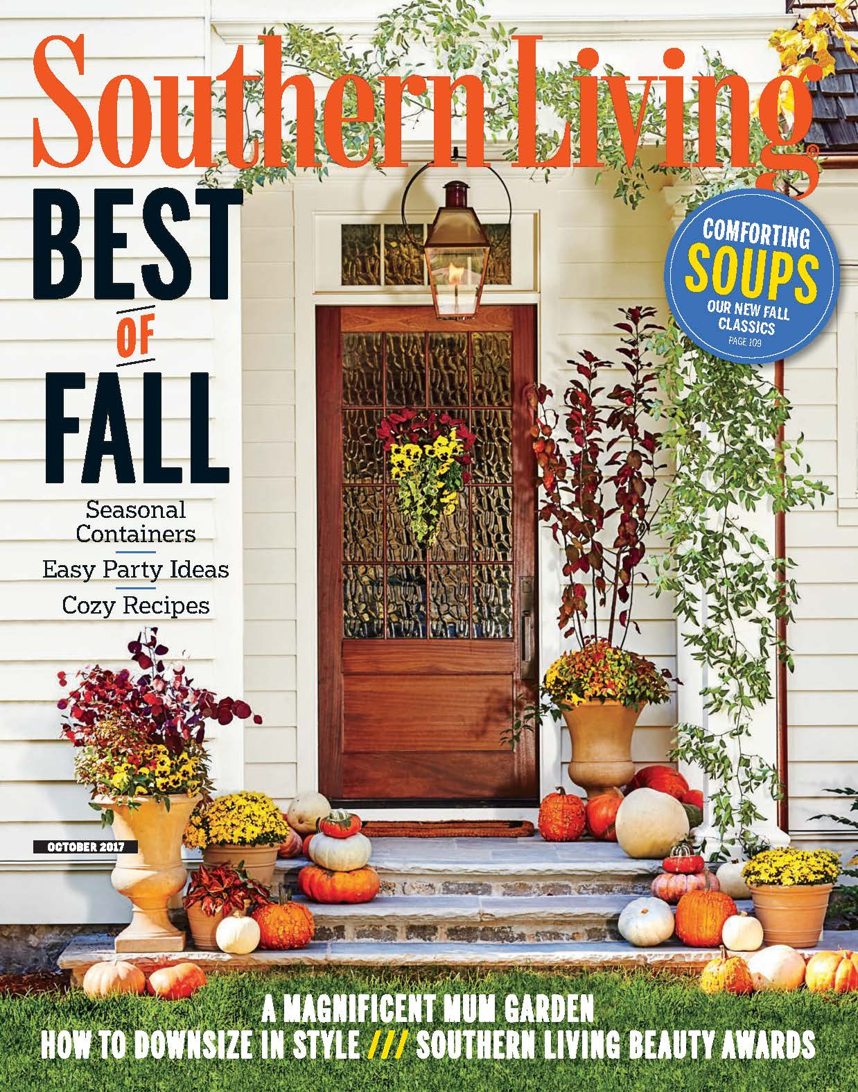 Southern Living, October 2017