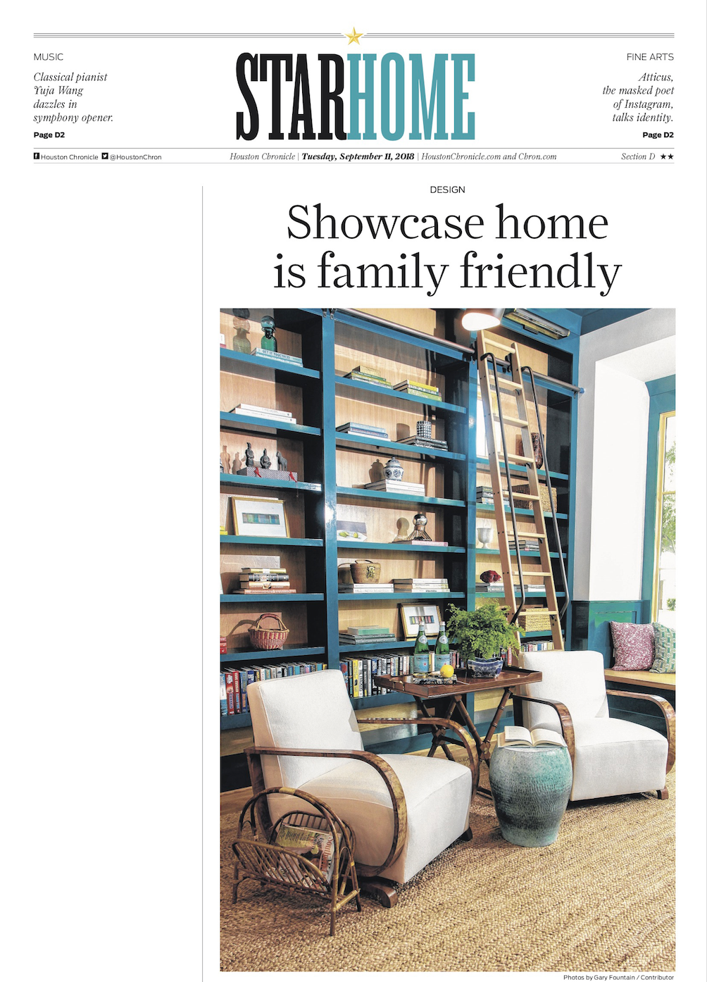 Houston Chronicle, Southern Living Showhouse, 2018