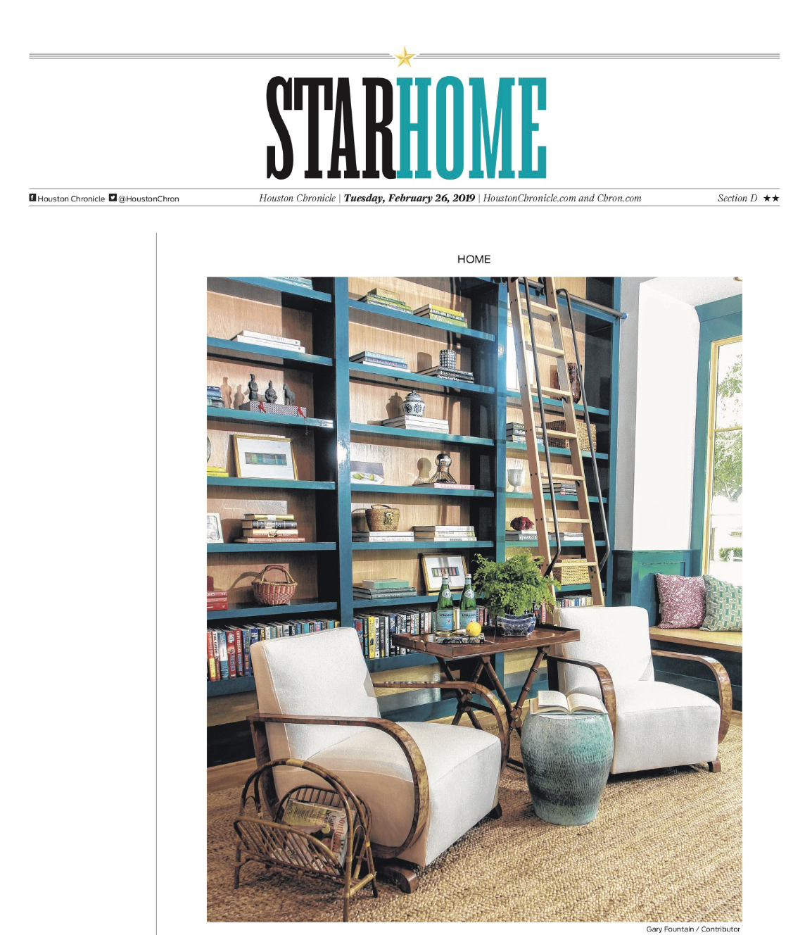 Houston Chronicle, Design Access, 2019