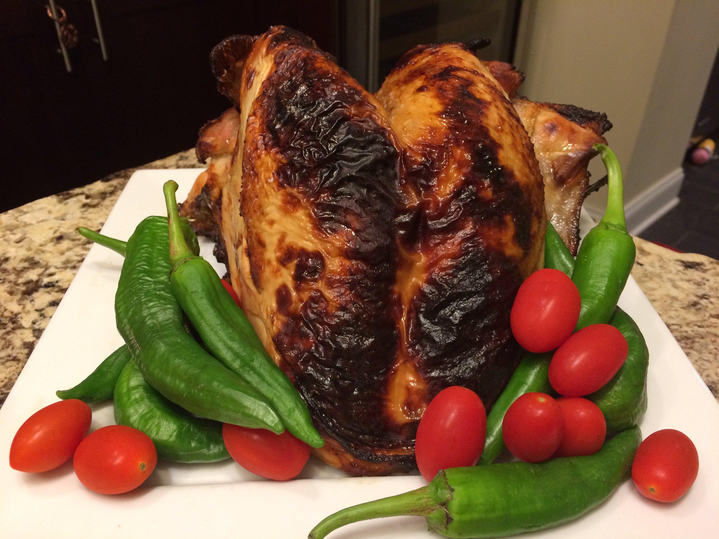Photo of brined Qorkzgiving Turkey by Gretchen Miller Neuman for  Qorkz .