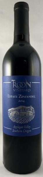 2014 Troon Blue Label Estate Zinfandel, Applegate Valley