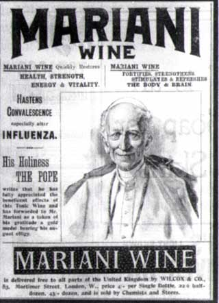 Pope Leo XIII for Vin Mariani