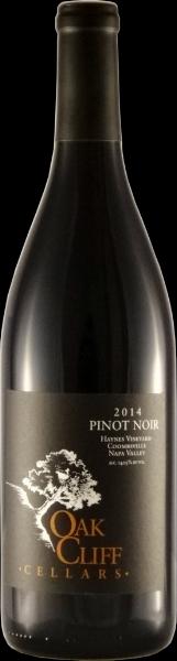 2014 Oak Cliff Cellars Napa Pinot Noir