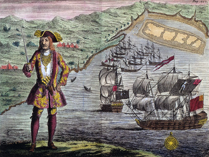 General_History_of_the_Robberies_and_Murders_of_the_Most_Notorious_Pyrates_-_Captain_Bartholomew_Roberts_with_two_Ships.jpg