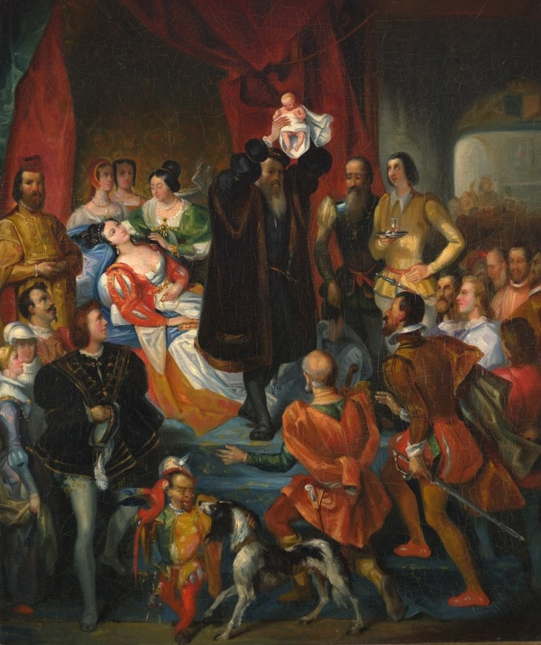 'Replique_de_la_Naissance_d'Henri_IV'_by_Eugène_Devéria.jpg
