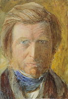 Ruskin self portrait