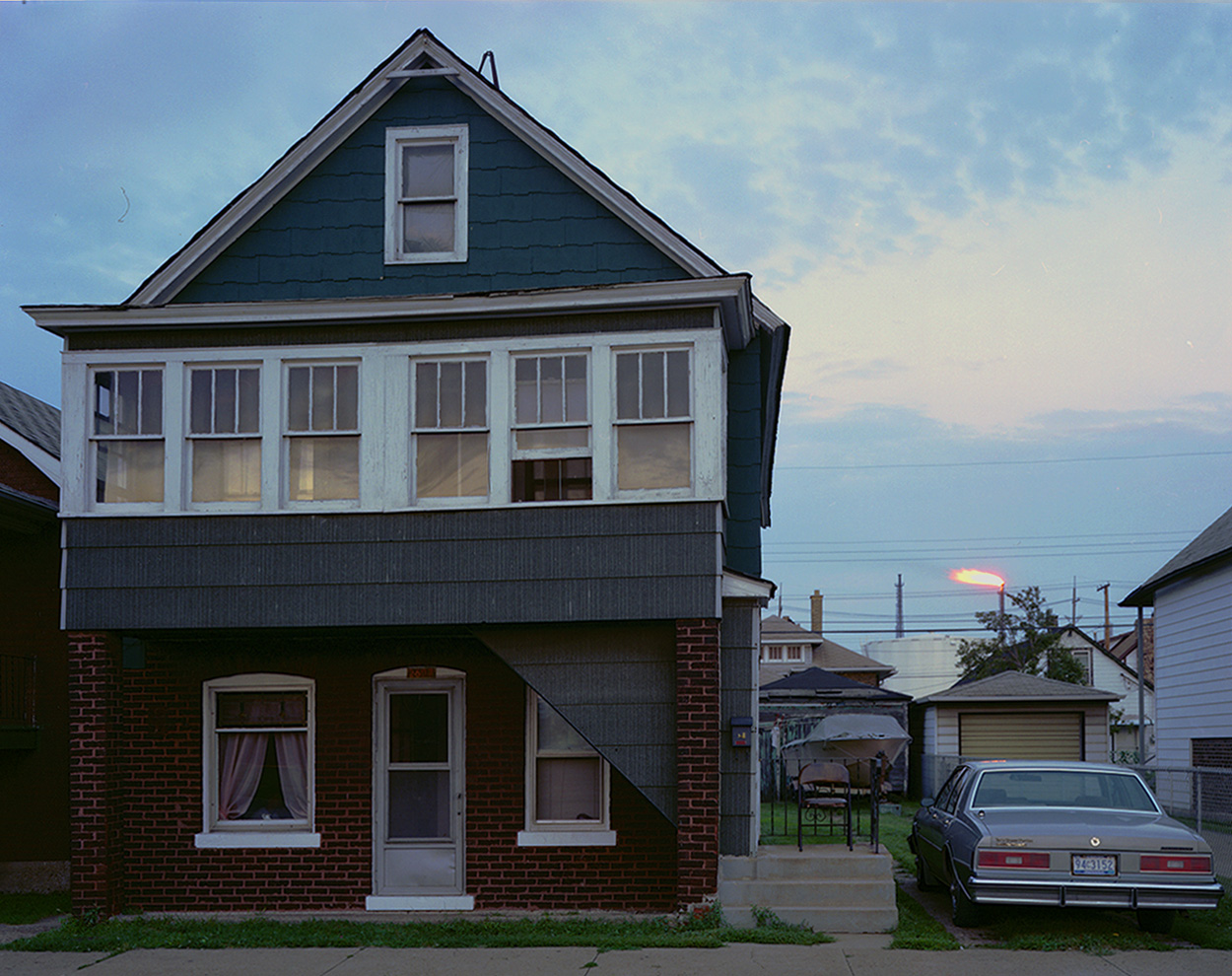 House At Twilight, Whiting IN 1987.jpg