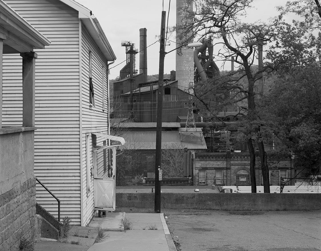 Houses and Mill, MIngo Junction, OH 2005.jpg