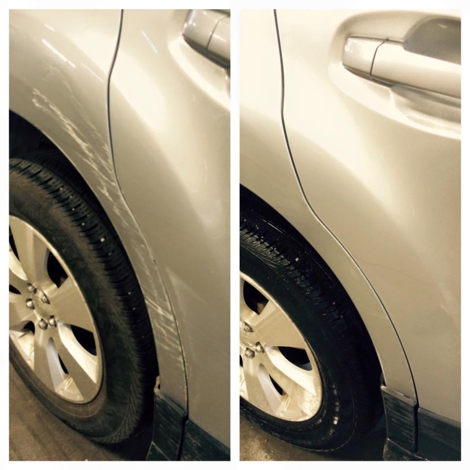 Car & Auto Scratch and Chip Repair Edmonton — Ming Shine