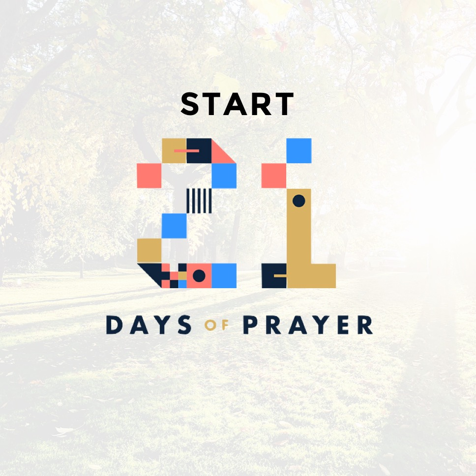 Instagram - Start of 21 Days of Prayer